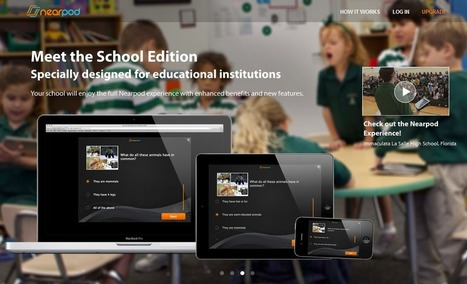 How Nearpod Brought Active Learning To My Classroom - Edudemic | Resources and ideas for the 21st Century Classroom | Scoop.it