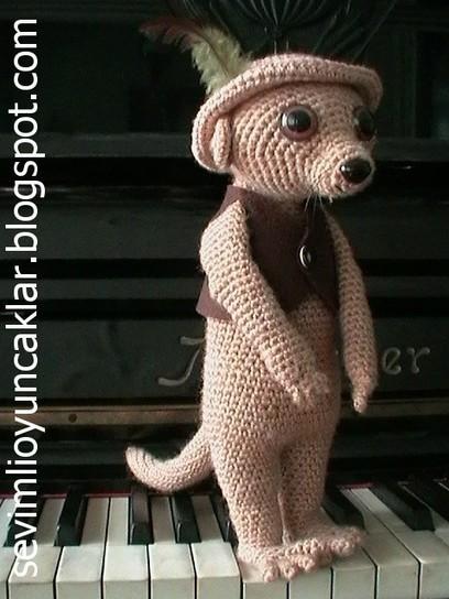 Amigurumi Meerkat Crochet Empire Geeky Crea...