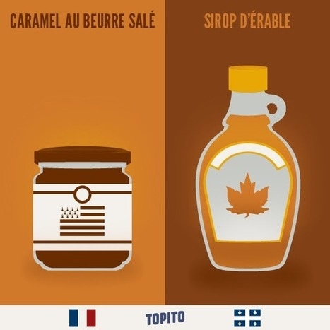 Top 23 des illustrations « France vs Québec », le grand clash des cousins en images | Mes coups de cœur FLE | Scoop.it