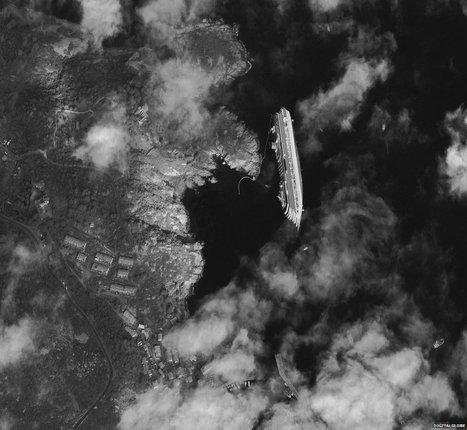 Costa Concordia: Satellite image | Shock Wave | Scoop.it