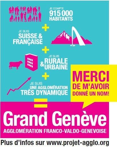 """LYon-Actualités.fr: France / Suisse : La Région Rhône-Alpes intègrera le """"Grand Genève""""   LYFtv - Lyon   Scoop.it"""