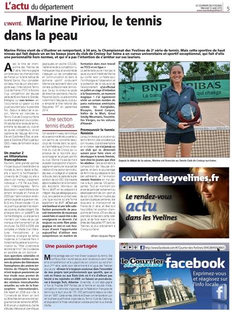Au TCCS | Croissy sur Seine | Scoop.it