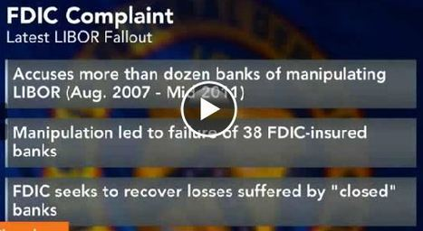 FDIC sues banks over alleged Libor rigging | Business Transformation | Scoop.it
