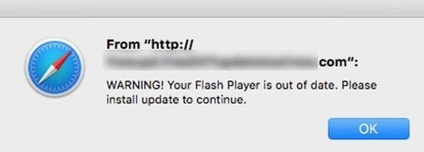 Fake Flash Player Update Infects Mac with Scareware | Apple, Mac, MacOS, iOS4, iPad, iPhone and (in)security... | Scoop.it