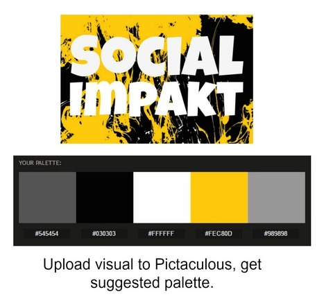 Pictaculous - A Color Palette Generator (courtesy of MailChimp) | Top Social Media Tools | Scoop.it