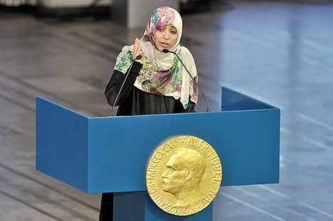 Sirleaf, Gbowee and Karman Accept Nobel Peace Prize | Coveting Freedom | Scoop.it