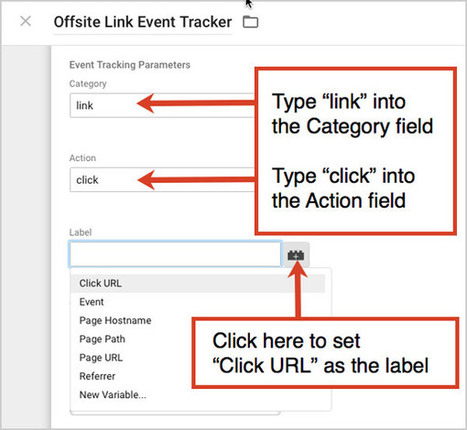 Where'd they go? Track every exit click using Google Tag Manager in 10 steps - Orbit Media Studios | SEO 101 for Marketers | Scoop.it