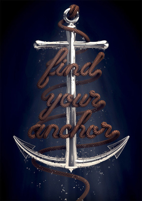 Magnificent Typography Artwork by David McLeod   Photoshop Text Effects Journal   Scoop.it