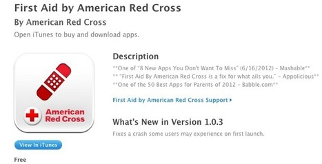 Red Cross App: Safety Tips in Case of Emergency - Patch.com | Personal Safety | Scoop.it