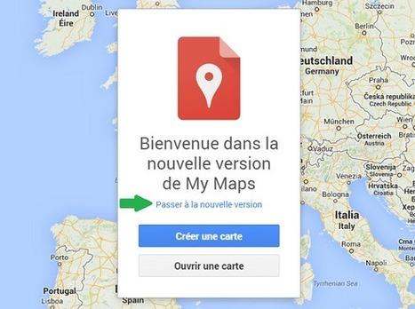 Google My Maps remplace désormais Google Maps Engine - #Arobasenet | Going social | Scoop.it