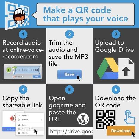 Here's how to make a talking QR Code | Organización y Futuro | Scoop.it