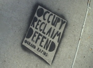 Occupy Grand Rapids produces first zine, continues occupation | OccupyGR | Scoop.it