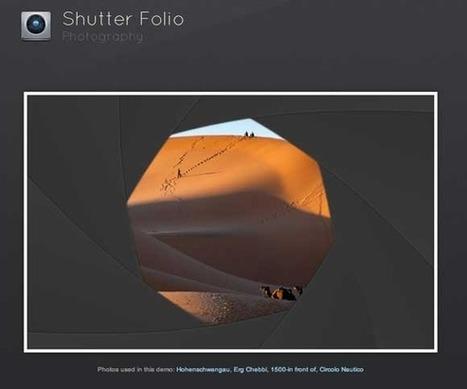 Shutter Effect Portfolio with jQuery and Canvas | Tutorialzine | Slideshow & Carousel Jquery | Scoop.it