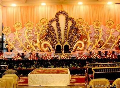 Indian Hindu Wedding Stage Background Showcase