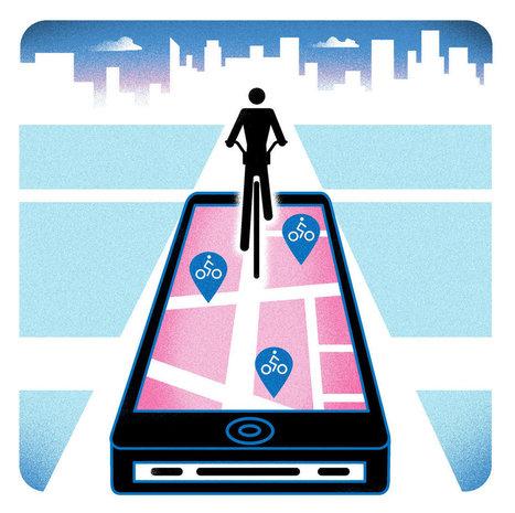 Citi Bike's One-Track App | Spatial Analysis | Scoop.it