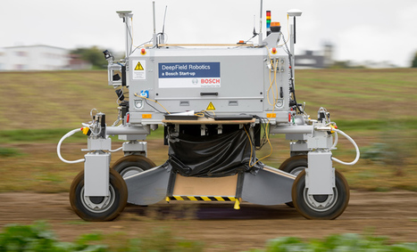 Bosch's Giant Robot Can Punch Weeds to Death | Robotic applications | Scoop.it