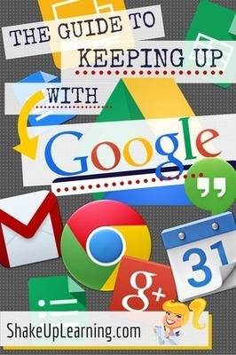 The Guide to Keeping Up With Google | eBooks, eLearners, and the Flipped Classroom | Scoop.it