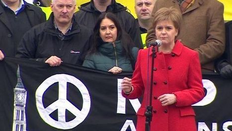 Nicola Sturgeon: 'I joined CND before joining the SNP' - BBC News | My Scotland | Scoop.it