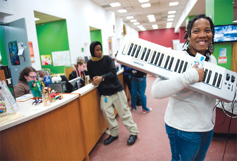 What's Right With This Picture?: Chicago's YOUmedia reinvents the public library   The Effing Awesome Library   Scoop.it