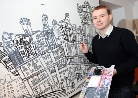 Autistic artist asked to create piece after chance encounter - Edinburgh Evening News - Scotsman.com | Autism Spectrum Disorders | Scoop.it