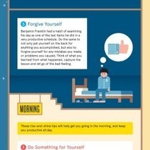 The 6 Smartest Things You Can Do Every Night and Morning | Visual.ly | Infographics for English class | Scoop.it