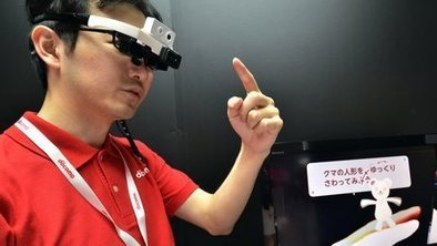 Firm shows off translating glasses | smart cities | Scoop.it