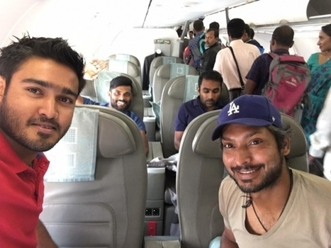 (Photos) Sri Lankan cricketers on their flight home after BPL 2016 finals | Sri Lanka Cricket | Scoop.it