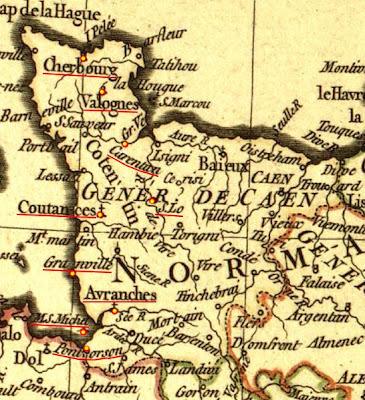 Herald Dick Magazine: Un trésor oublié : l'Armorial de La Planche - 1669 - Normandie - Bailliage de Cotentin | GenealoNet | Scoop.it