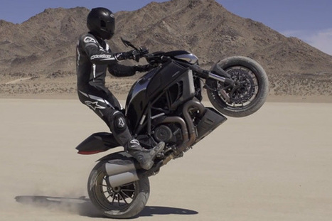 video - High Plains Driftin' with the Ducati Diavel Cromo | Ductalk Ducati News | Scoop.it