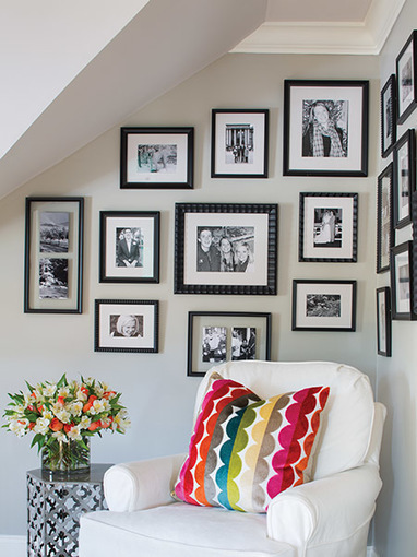 How to create a photo gallery in your home - Atlanta Magazine | Midtown Atlanta Conversations and Condos | Scoop.it