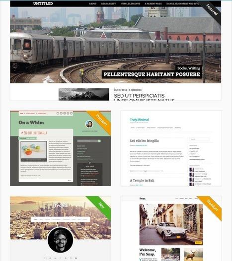 90 Temas WordPress con Diseño Responsable - Adaptativo para tu Web | Recursos Web Gratis | Scoop.it