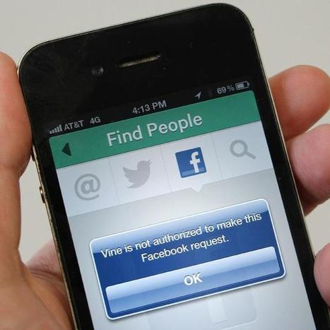 Facebook Explains Why Vine Can't Access Your Friends | The Perfect Storm Team | Scoop.it