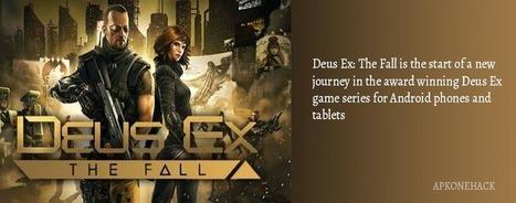 Deus Ex: The Fall MOD Apk + OBB Data [Unlimited