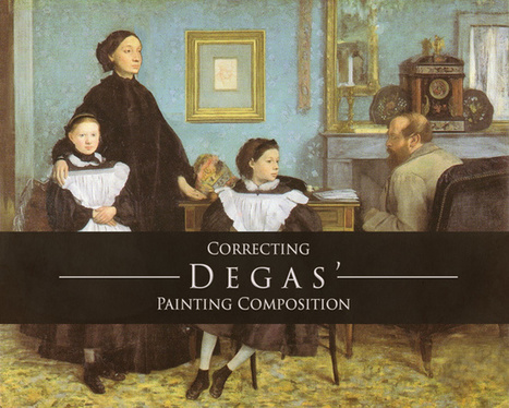 Correcting Degas' Painting Composition | Abolish the Rule of Thirds | Scoop.it