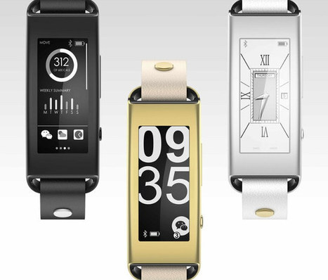 $89 Lenovo VIBE Band VB10 Activity Tracker Features an E-Ink Display, 7-Day Battery Life | Embedded Systems News | Scoop.it