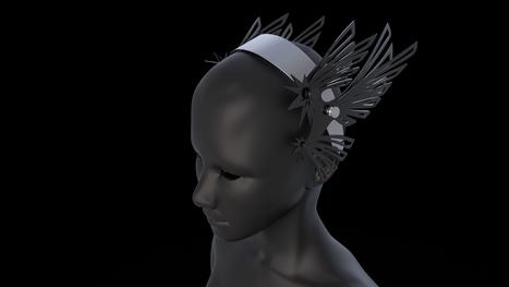 Julien Fournié: des accessoires coutures imprimés en 3D | FashionLab | Scoop.it