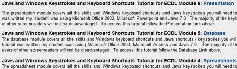 Powerpoint, Word, Excel, Database Tutorials for screenreaders | Inclusive Education | Scoop.it