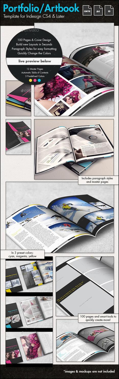 Photofolio & Artbook Template - A4 Portrait | About Art & Creativity | Scoop.it