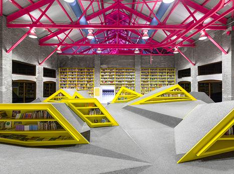 Architecture : la bibliothèque de Monterrey au Mexique   Nouvelles Technologies de l'Informations et de la Communication   Scoop.it