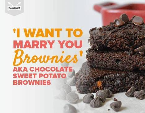 'I Want To Marry You Brownies' aka Sweet Potato Brownies | Nutrition & Recipes | Scoop.it