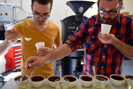 Rotterdam: Eye On Coffee At Man Met Bril... | Coffee News | Scoop.it