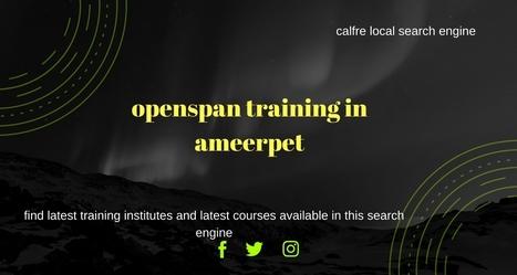 openspan training in ameerpet   QlikView Traini