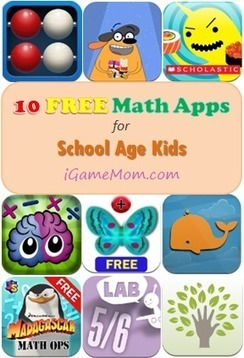 10 Free Math Apps for Elementary School Kids | Educational Apps and Beyond | Scoop.it