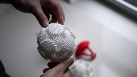 Une sphère d'engrenages imprimée en 3D | Fab(rication)Lab(oratories) | Scoop.it