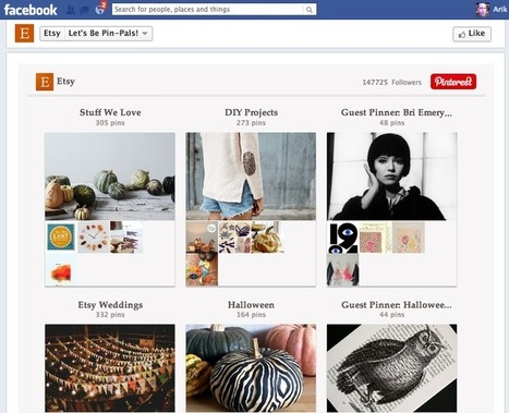 What's the best app for linking your Pinterest page to Facebook? | | Facebook Marketing All News | Scoop.it