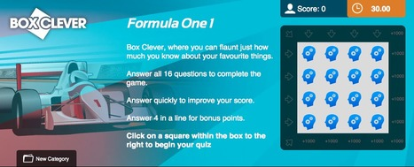 Formula 1 Quiz | Box Clever | QuizFortune | Formula 1 Deals 2 | Scoop.it