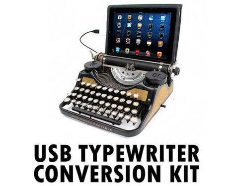 DIY USB Typewriter Conversion Kit | Breaking Gear | Stuff that matters to me | Scoop.it