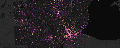 Luminous Cities: the archaeology of data traces left by social media | TraceMedia | The Programmable City | Scoop.it