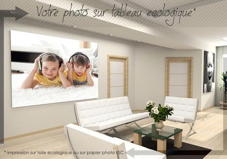 Votre Tableau Photo Personnalisé imprimé sur Toile ou sur Papier Photo | Cadeaux originaux | Scoop.it
