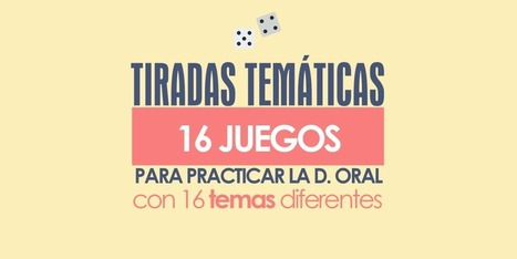 � Tiradas temáticas: Practica 16 temas jugando | abcdeEle | Español para los más pequeños | Scoop.it